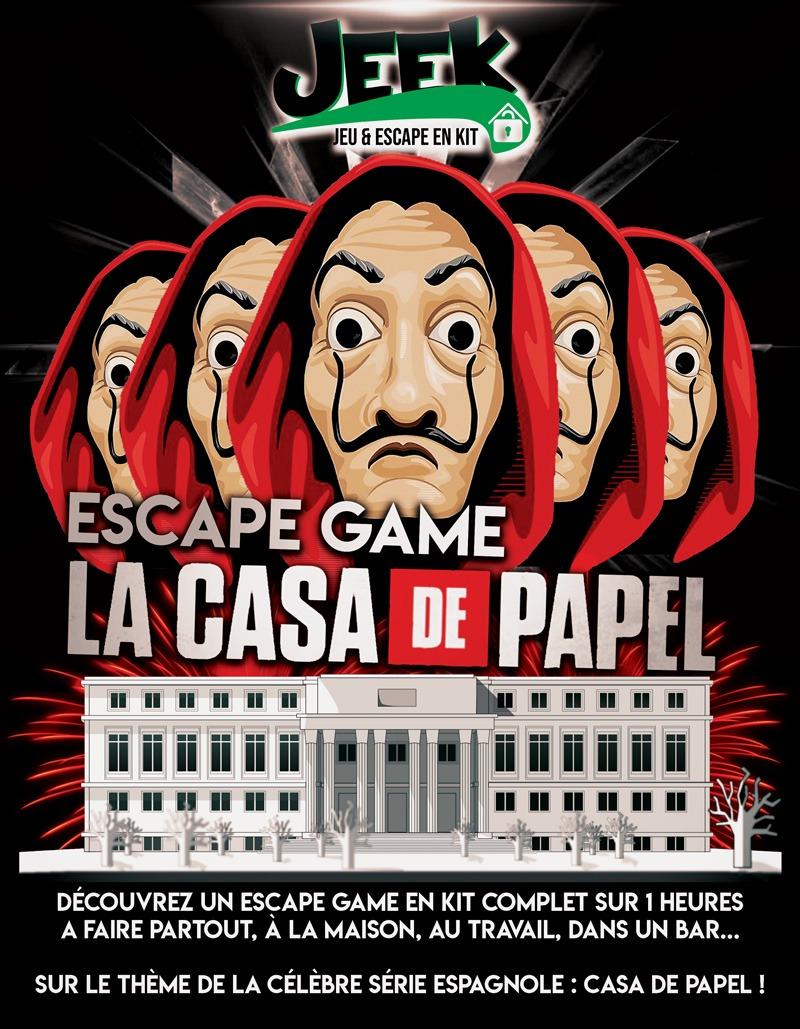 Jeek Escape Print La Casa de Papel